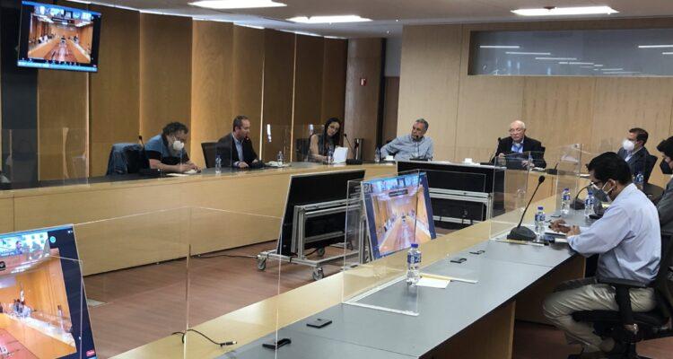 Ramírez Cuéllar encabeza reunión del Grupo de Trabajo para la Transición Hacendaria